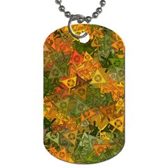 Fun,fantasy And Joy 3 Dog Tag (two Sides) by MoreColorsinLife