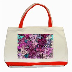 Fun,fantasy And Joy 7 Classic Tote Bag (red) by MoreColorsinLife