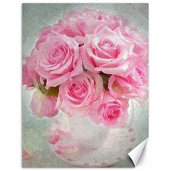 Pink Roses Canvas 18  X 24   by 8fugoso