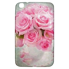 Pink Roses Samsung Galaxy Tab 3 (8 ) T3100 Hardshell Case  by 8fugoso