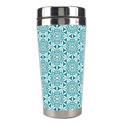 Mandala Hand Drawing Pattern  Stainless Steel Travel Tumblers by Cveti