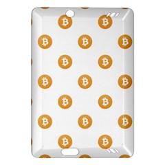 Bitcoin Logo Pattern Amazon Kindle Fire Hd (2013) Hardshell Case
