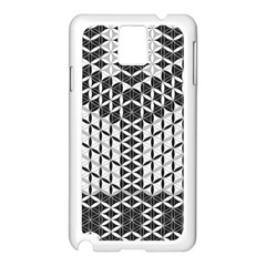 Flower Of Life Grey Samsung Galaxy Note 3 N9005 Case (white)