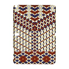 Flower Of Life Pattern Red Blue Galaxy Note 1