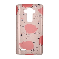 Pigs And Flowers Lg G4 Hardshell Case by allthingseveryday