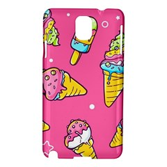 Summer Ice Creams Flavors Pattern Samsung Galaxy Note 3 N9005 Hardshell Case by allthingseveryday