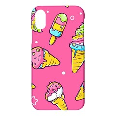 Summer Ice Creams Flavors Pattern Apple Iphone X Hardshell Case by allthingseveryday