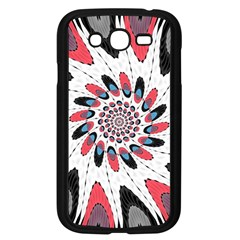 High Contrast Twirl Samsung Galaxy Grand Duos I9082 Case (black) by linceazul