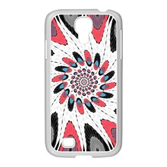 High Contrast Twirl Samsung Galaxy S4 I9500/ I9505 Case (white) by linceazul