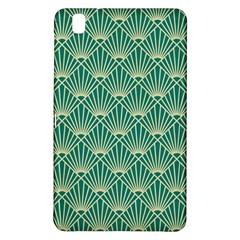 Green Fan  Samsung Galaxy Tab Pro 8 4 Hardshell Case by 8fugoso