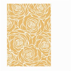 Yellow Peonines Large Garden Flag (two Sides) by 8fugoso