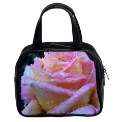 Rose Bag Classic Handbags (2 Sides) by Rooboo