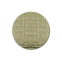 Shooting Stars Over The Sea Of Calm Magnet 3  (round) by pepitasart