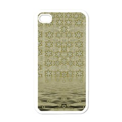 Shooting Stars Over The Sea Of Calm Apple Iphone 4 Case (white)