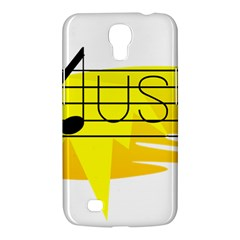 Music Dance Abstract Clip Art Samsung Galaxy Mega 6 3  I9200 Hardshell Case by Celenk