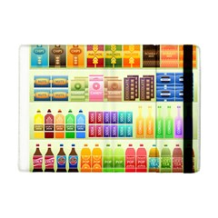 Supermarket Shelf Products Snacks Ipad Mini 2 Flip Cases by Celenk
