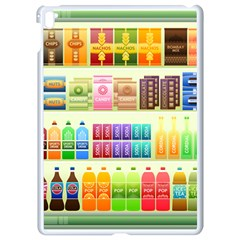 Supermarket Shelf Products Snacks Apple Ipad Pro 9 7   White Seamless Case by Celenk