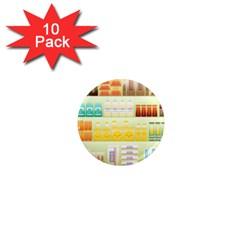 Supermarket Shelf Coffee Tea Grains 1  Mini Magnet (10 Pack)  by Celenk