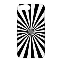 Rays Stripes Ray Laser Background Apple Iphone 8 Plus Hardshell Case