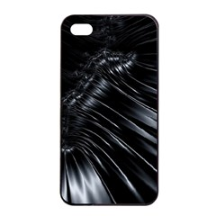 Fractal Mathematics Abstract Apple Iphone 4/4s Seamless Case (black) by Celenk