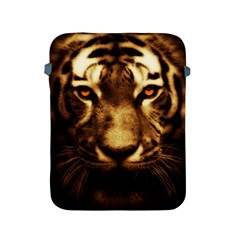 Cat Tiger Animal Wildlife Wild Apple Ipad 2/3/4 Protective Soft Cases by Celenk