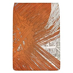 Abstract Lines Background Mess Flap Covers (l)