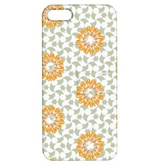 Stamping Pattern Fashion Background Apple Iphone 5 Hardshell Case With Stand by Celenk