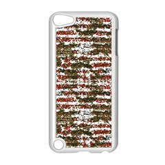 Grunge Textured Abstract Pattern Apple Ipod Touch 5 Case (white) by dflcprints