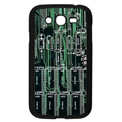 Printed Circuit Board Circuits Samsung Galaxy Grand Duos I9082 Case (black) by Celenk