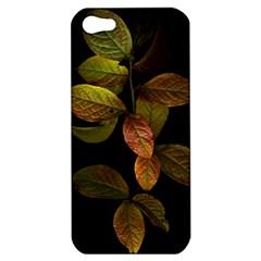 Autumn Leaves Foliage Apple Iphone 5 Hardshell Case by Celenk