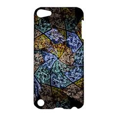 Multi Color Tile Twirl Octagon Apple Ipod Touch 5 Hardshell Case by Celenk