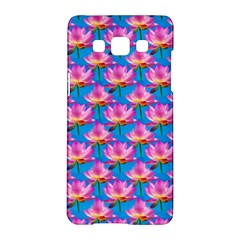 Seamless Flower Pattern Colorful Samsung Galaxy A5 Hardshell Case  by Celenk