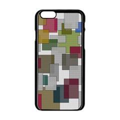 Decor Painting Design Texture Apple Iphone 6/6s Black Enamel Case by Celenk