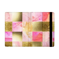 Collage Gold And Pink Apple Ipad Mini Flip Case by 8fugoso