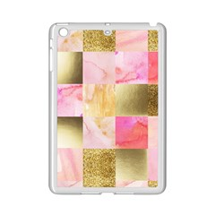 Collage Gold And Pink Ipad Mini 2 Enamel Coated Cases by 8fugoso