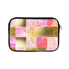 Collage Gold And Pink Apple Ipad Mini Zipper Cases by 8fugoso
