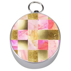 Collage Gold And Pink Silver Compasses by 8fugoso
