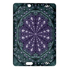 Star And Flower Mandala In Wonderful Colors Amazon Kindle Fire Hd (2013) Hardshell Case by pepitasart