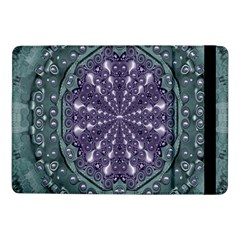 Star And Flower Mandala In Wonderful Colors Samsung Galaxy Tab Pro 10 1  Flip Case by pepitasart