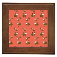 Dance Framed Tiles by Celenk