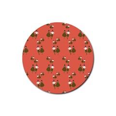 Dance Rubber Coaster (round)