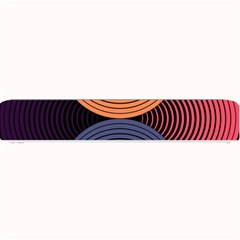 Geometric Swirls Small Bar Mats by Celenk
