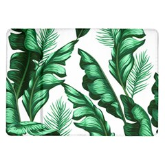 Banana Leaves And Fruit Isolated With Four Pattern Samsung Galaxy Tab 10 1  P7500 Flip Case by Celenk