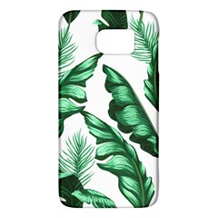 Banana Leaves And Fruit Isolated With Four Pattern Galaxy S6 by Celenk