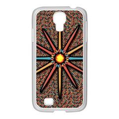 Star Samsung Galaxy S4 I9500/ I9505 Case (white) by linceazul