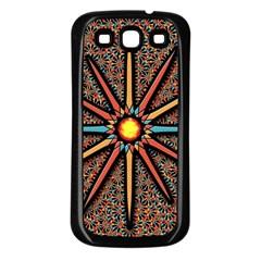 Star Samsung Galaxy S3 Back Case (black) by linceazul