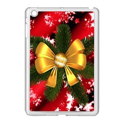 Christmas Star Winter Celebration Apple Ipad Mini Case (white) by Celenk