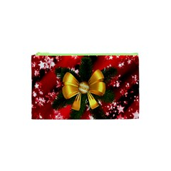 Christmas Star Winter Celebration Cosmetic Bag (xs) by Celenk