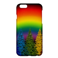 Christmas Colorful Rainbow Colors Apple Iphone 6 Plus/6s Plus Hardshell Case by Celenk