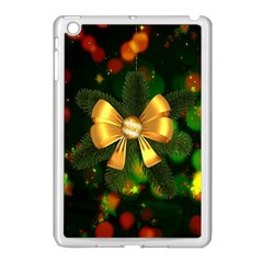 Christmas Celebration Tannenzweig Apple Ipad Mini Case (white) by Celenk